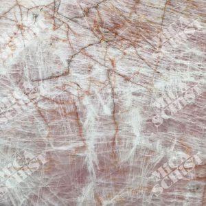 سنگ کوارتزیت صورتی کریستالو پینک Cristallo Pink