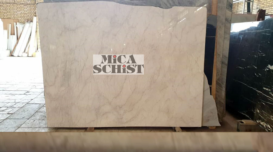 light cream marble slabs
