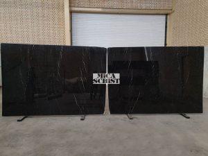 persian black marble stone