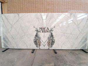 white marble stone slabs